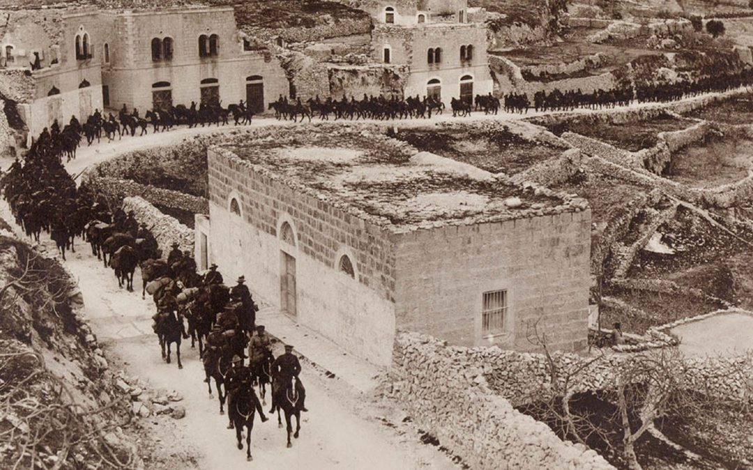 Australian Lighthorse Entering Bethlehem 1917