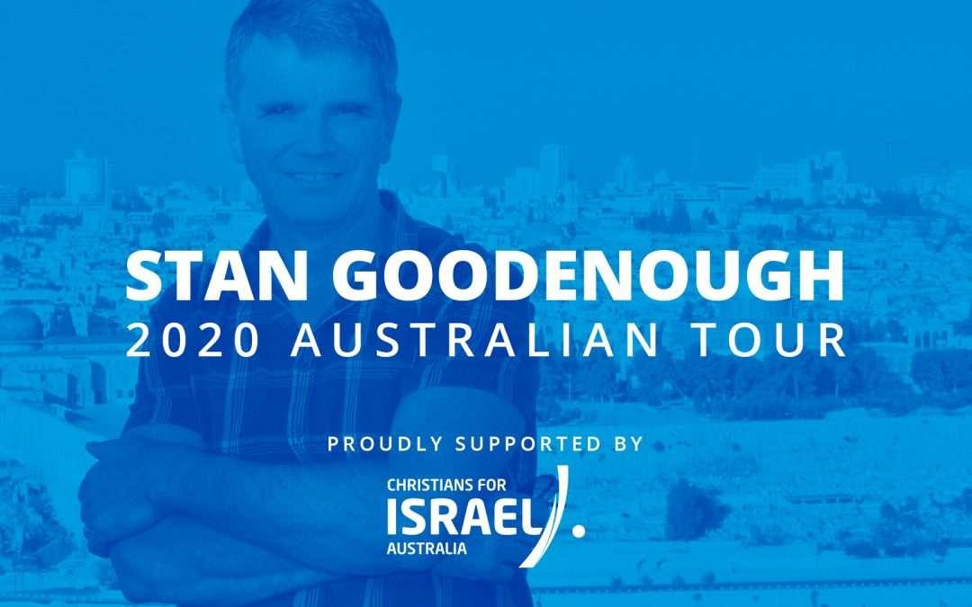Stan Goodenough Speaking Tour