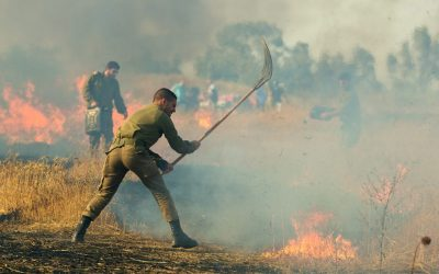 Supporting an Aussie Firefighter to Train Israelis in the Incendiary Fire Balloon Crisis