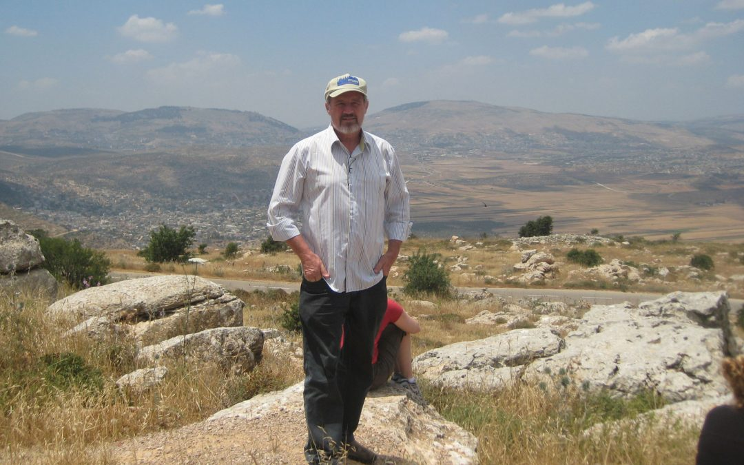 Keith Buxton at Itamar in Israel